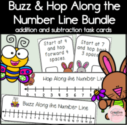 Buzz and Hop Along the Number Line square preview