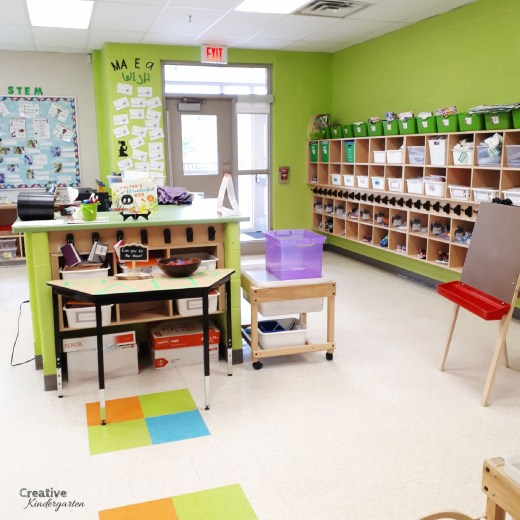 Take a tour of our kindergarten classroom!