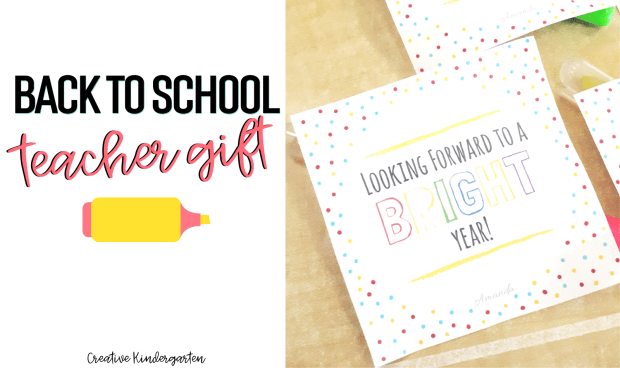 Use these free tags to add a nice touch to your back to school gift for your colleagues. These teacher gifts are a perfect way to start the school year.