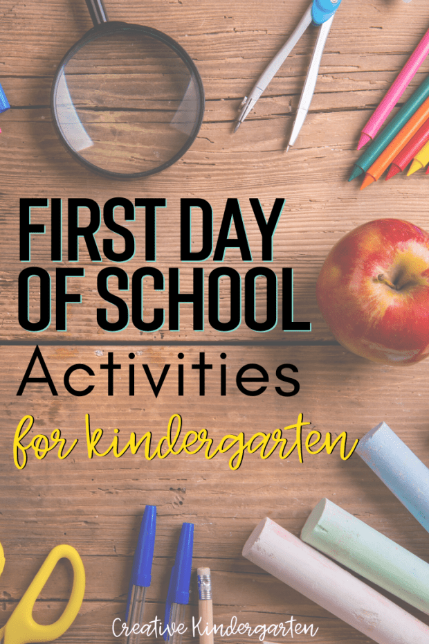Plan your first day of kindergarten activities with these fun and hands-on centers. Get your students excited about learning, and create a sense of belonging with a free bulletin board printable.