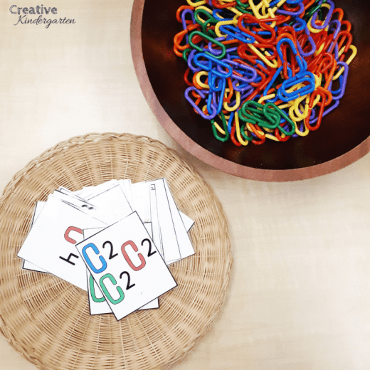 Reinforce fine motor skills with this fun math activity that will keep students engaged. Reinforce counting skills while working on fine motor development with this kindergarten activity.
