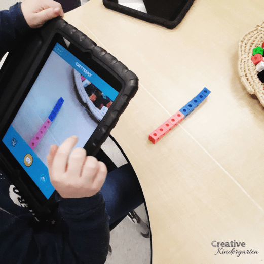 How to teach students to Make 10. Decompose numbers with this hands-on math activity. Make snap cube towers to practice making ten in different ways. Work on making 10 with this fun math center for kindergarten. Use technology to record their math thinking.