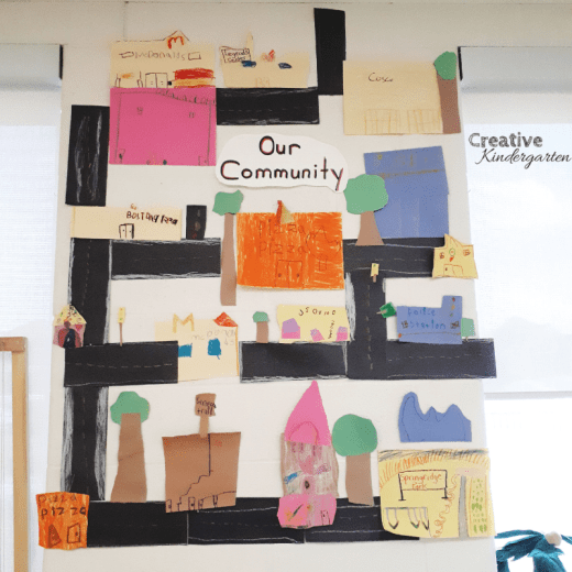 A look at our kindergarten centers in our FDK classroom. A community co-created display for our classroom, reinforce fine motor skills, paint with cars and build with a fun, hands-on loose parts literacy center.