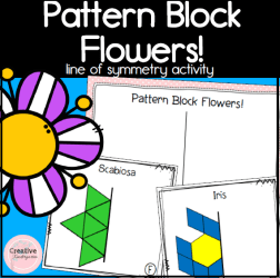 Pattern Block Flowers square preview2