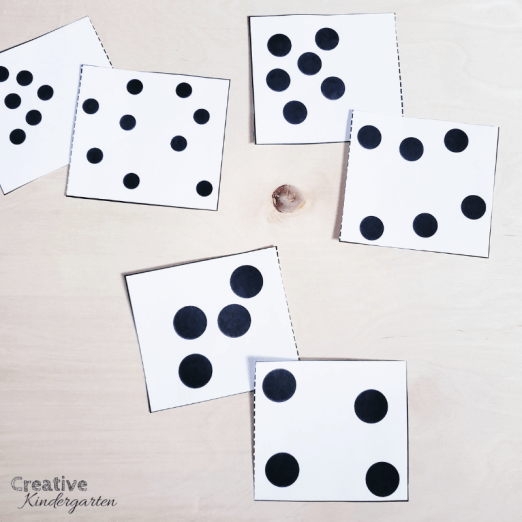 A review of Counting Principles for kindergarten number sense. Free conservation matching cards for your students to use to practice their number sense skills. FREEBIE included! #conservation #numbersense #creativekindergarten