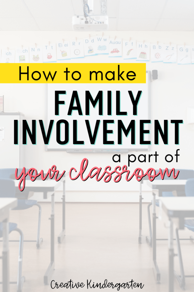 sharing your classroom with your students' families can be a powerful tool to keep them engaged in their child's learning. How I promoted family involvement in my classroom.