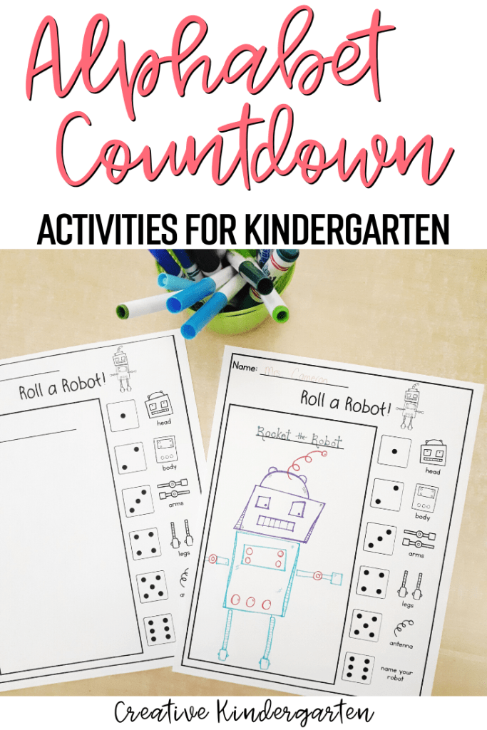 Doing an Alphabet countdown was my favourite way to end the school year. Find out how I easily planned 26 days of fun in my kindergarten classroom.