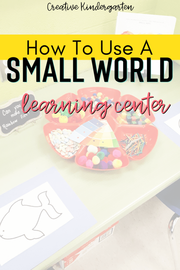 Using different learning spaces in your classroom provides students with the opportunity to work on various skills. A small world learning center is perfect for science, creative play, STEM, and more.