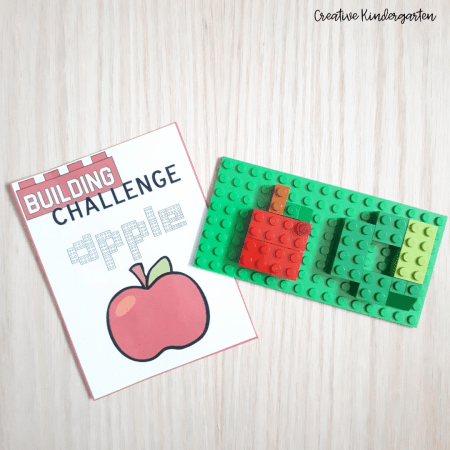 These Lego task cards are perfect to use all year long and change with the seasons. Promote fine motor skills, creative thinking and problem solving skills with these STEM Activities for kindergarten.