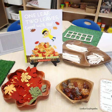 Reinforce representing numbers in different ways with this invitation with loose parts and materials.