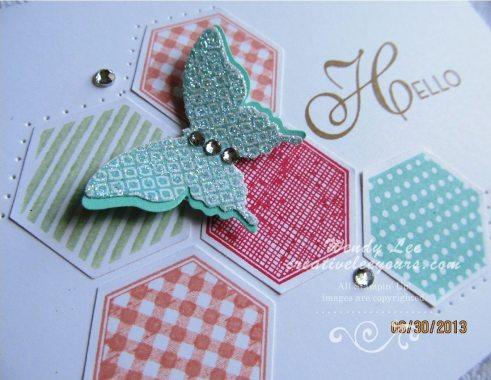 Hexagon Butterflies 2