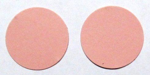 """1 1/4"""" circles"""