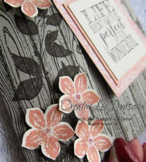 Hardwood Bookmark Card