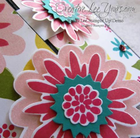 Flower patch screen card