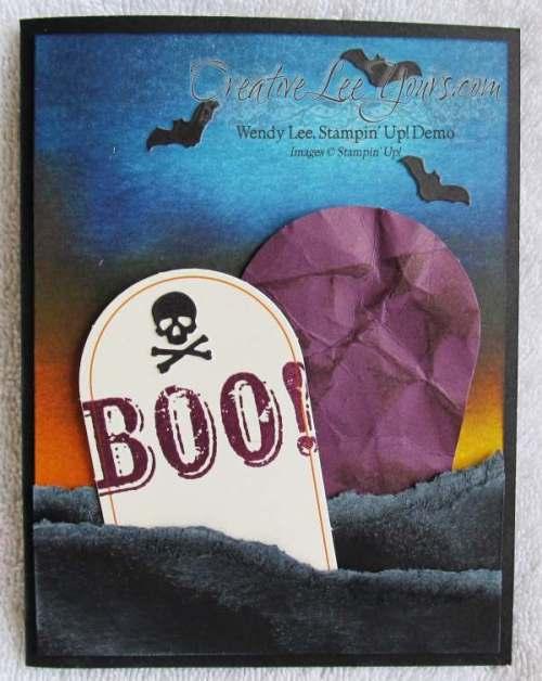 Sept 2014 Paper Pumpkin by Wendy Lee, Halloween card