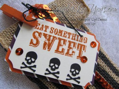 Sept 2014 Paper Pumpkin by Wendy Lee, Halloween treat bag