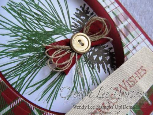 Ornamental Pines Christmas Wishes By Wendy Lee