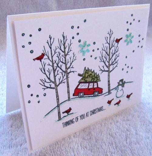 White Christmas, creativeleeyours, Stampin' Up!