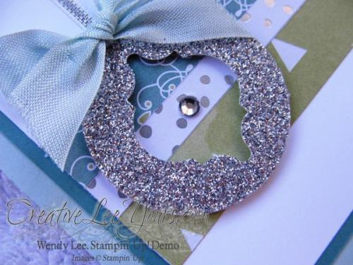 All is calm mosaic by Wendy Lee, creativeleeyours, Stampin' Up!, Nov 2014 FMN class