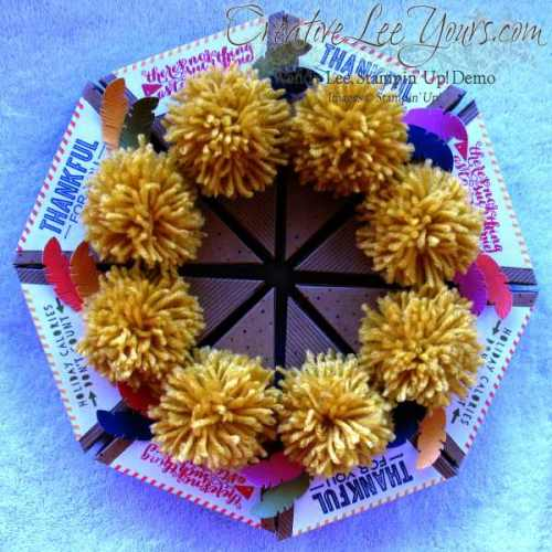 October 2014 Paper Pumpkin Sweet As Pie Kit by wendy lee, Stampin' Up!, #creativeleeyours, home decor