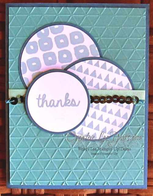 Layers of Gratitude Thanks by Wendy Lee, #creativeleeyours, Stampin' Up!, Paper Pumpkin