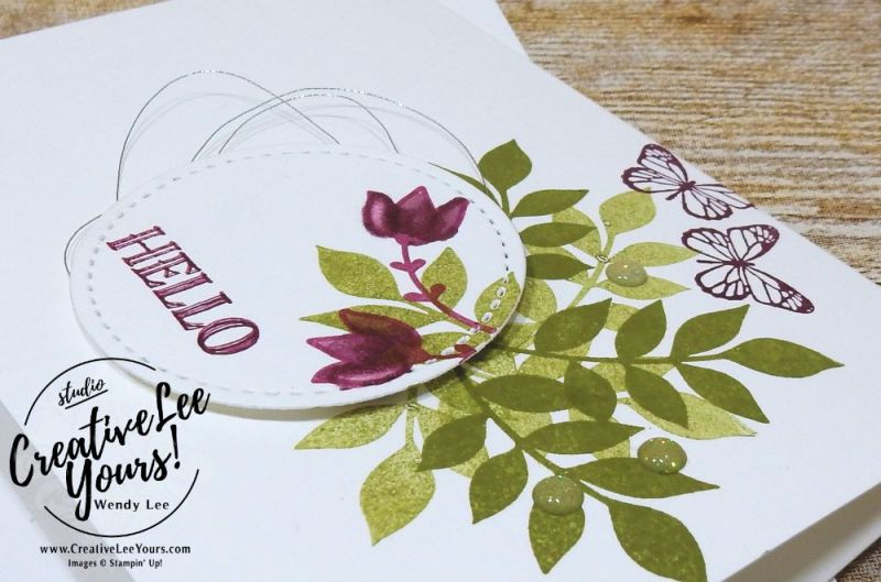 December 2017 Paper Pumpkin Flora and Flutter Paper Pumpkin Kit by wendy lee, stampin up, handmade cards, rubber stamps, stamping, kit, subscription, January 2018 FMN card class, alternate projects, fast and easy