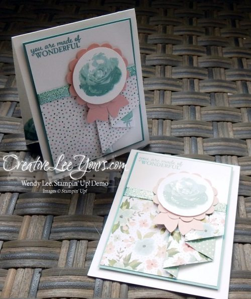 Pleated Skirt by Wendy Lee, #creativeleeoyurs, Stampin' Up!, April 2016 FMN class, Picture Perfect stamp set