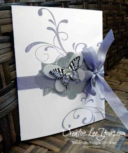 Swallowtail Popup by Wendy Lee, #creativeleeyours, Stampin' Up!, May 2016 FMN class, Everything Eleanor, birthday card