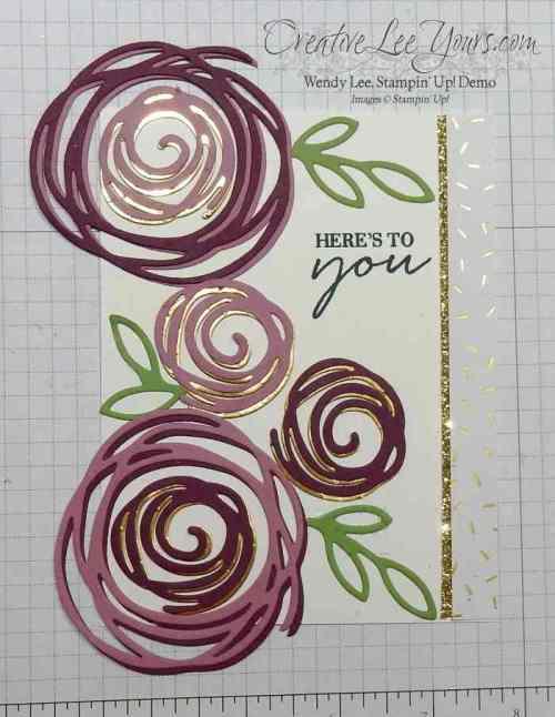 2016 incentive trip swap by Wendy Lee, #creativeleeyours, Stampin Up, Swirly bird stamp set