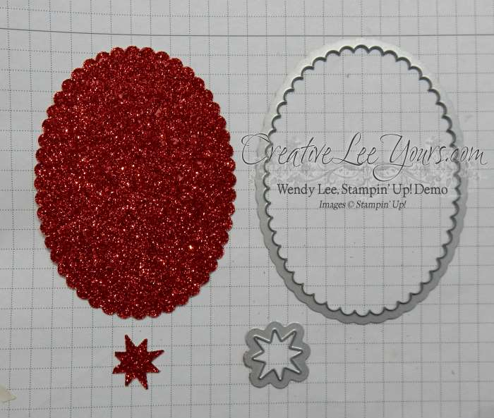 Star of Light ornament by Wendy Lee, Stampin' Up!, #creativeleeyours, christmas, hand made, home decor, star of light stamp set, starlight thinlits, 2016 annual party