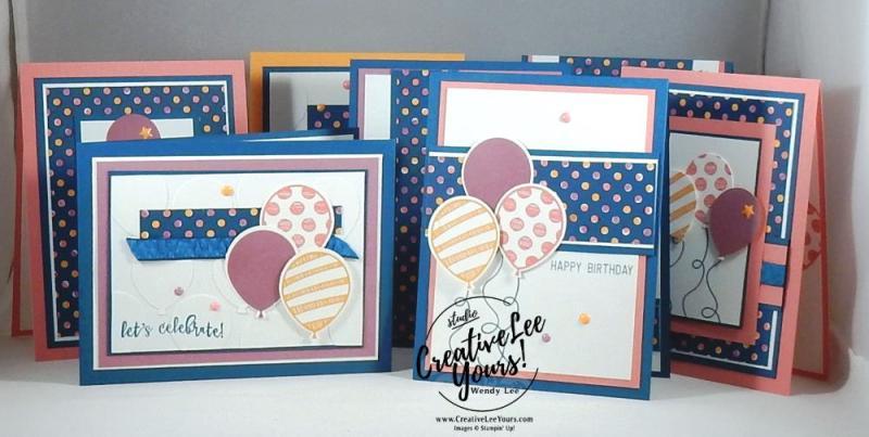 Balloon Adventure 1 sheet wonder by Wendy Lee, class pdf, Stampin Up, #creativeleeyours, cardmaking, rubber stamps, hand made card, balloon adventure stamp set, birthday cards