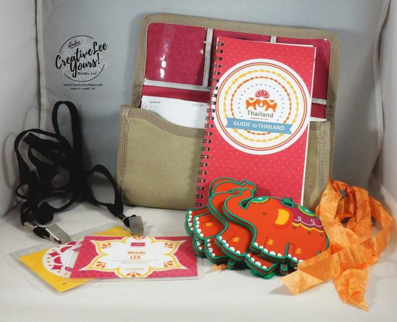 stampin up 2017 thailand incentive trip, wendy lee, #creativeleeyours, creatively yours, demonstrator rewards
