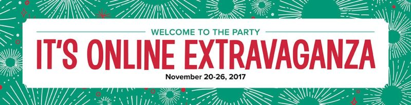 online extravaganza with Wendy Lee, Stampin Up sale, discount stamps, paper crafting, holiday sale, black friday