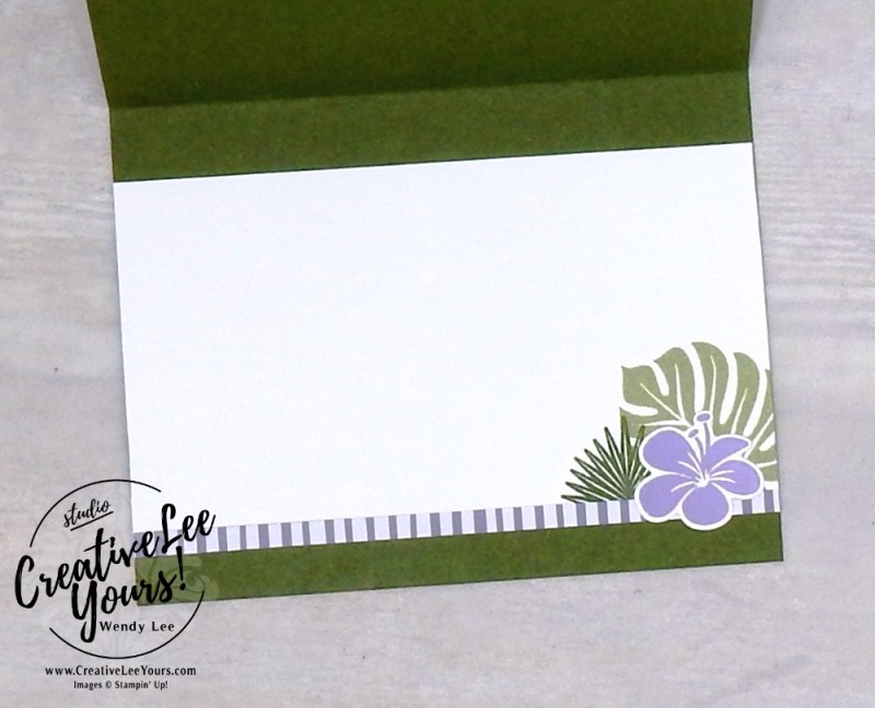 Love & Thanks by wendy lee, Printable Tutorial, cardmaking, handmade card, rubber stamps, stamping, stampin up, wendy Lee, #creativeleeyours, creatively yours, creative-lee yours, SU, SU cards, birthday, tropical chic stamp set, thank you, friend