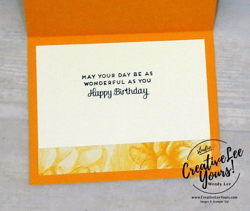 Floral Celebrate by wendy lee, cardmaking, handmade card, rubber stamps, stamping, stampin up, wendy Lee, #creativeleeyours, creatively yours, creative-lee yours, SU, SU cards, birthday, special celebrations stamp set, thank you, friend, quick & easy