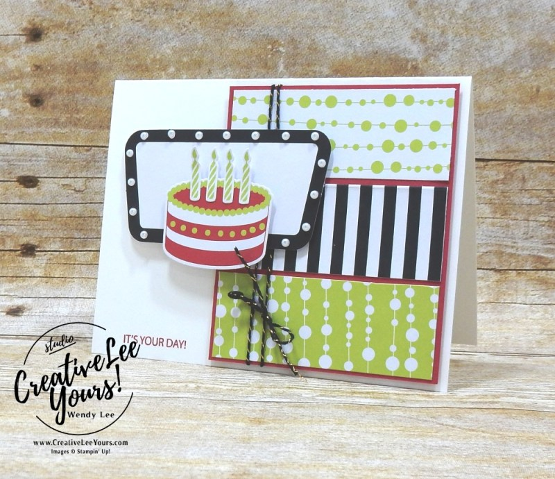 June 2018 Broadway star Paper Pumpkin Kit by wendy lee, stampin up, handmade cards, rubber stamps, stamping, kit, subscription, #creativeleeyours, creatively yours, creative-lee yours, birthday, friend, masculine, 50 off promotion