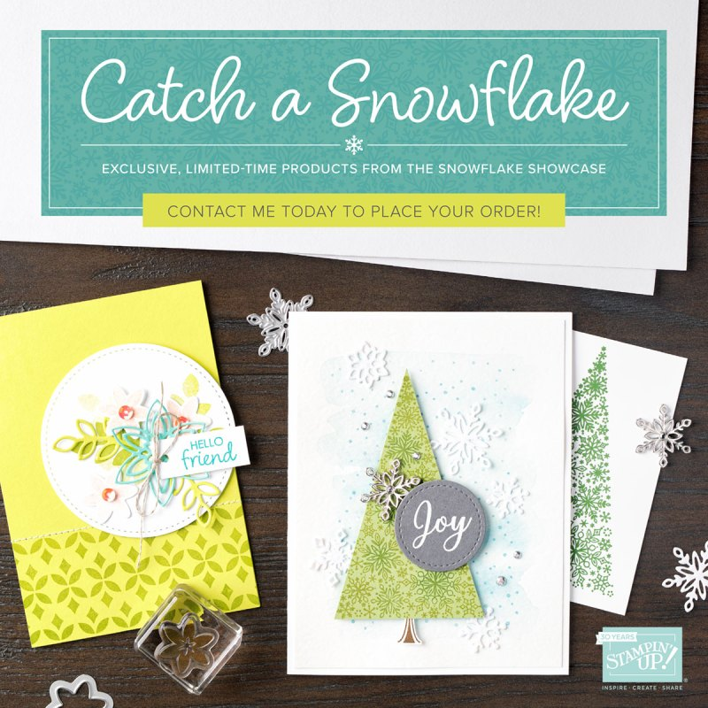 wendy lee, Stampin Up, #creativeleeyours, creatively yours, creative-lee yours, SU, DIY, paper craft, limited time, exclusive, snowflake showcase, snow is glistening stamp set, snowfall thinlits, snowflakes, happiness surrounds stamp set, velveteen paper, promotion