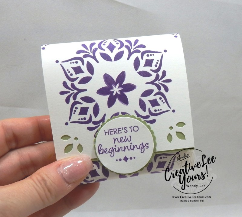 Post it Note Cover by wendy lee, Printable Tutorial, annual holiday party, Stampin Up, #creativeleeyours, creatively yours, creative-lee yours, SU, DIY, paper craft, limited time, exclusive, snowflake showcase, happiness surrounds stamp set, stamp event, gifts, stocking stuffer