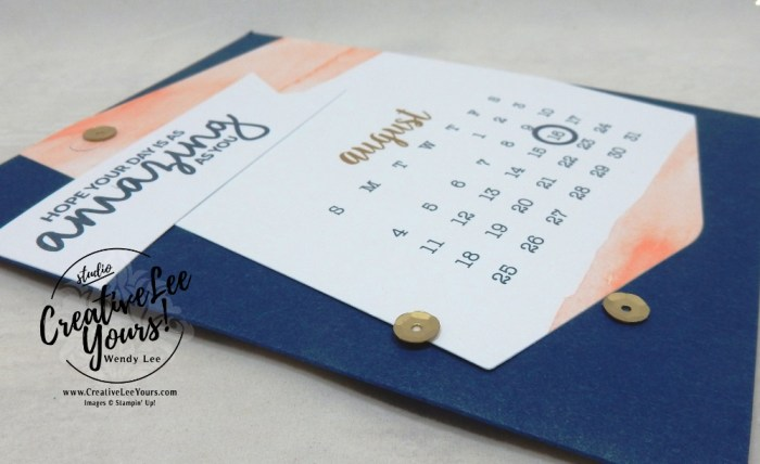 Amazing birthday by wendy lee, December 2018 Day by Day Paper Pumpkin Kit, stampin up, SU, handmade cards, rubber stamps, stamping, kit, subscription, #creativeleeyours, creatively yours, creative-lee yours, alternate, bonus tutorial, fast & easy, DIY, #simplestamping, friend