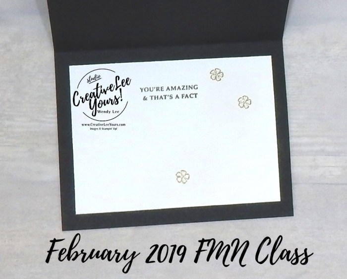 Unstoppable by Wendy Lee, Tutorial, card club, stampin Up, SU, #creativeleeyours, hand made card, fun fold, love, anniversary, valentine, stamping, creatively yours, creative-lee yours, wonderful romance stamp set, wonderful floral framelits, DIY, FMN, forget me knot, February 2019, class, kylie bertucci, international highlights, blog, hop, masking, coloring with shimmer paint, encouragement