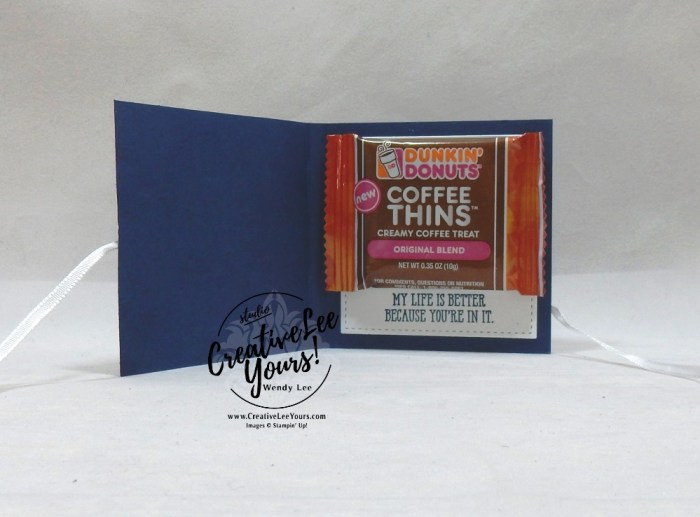 Love Treat Holder, wendy lee, stampin up, stamping, SU, #creativeleeyours, creatively yours, creative-lee yours, DIY, fellowship, well said stamp set, friend, congrats, love, support, hello, valentine, candy treat, Ghirardelli squares, die-cut, hearts