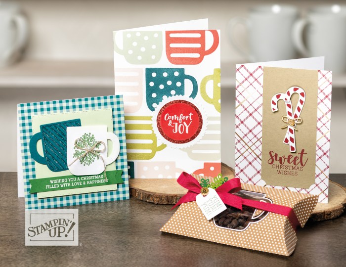 Cup Of Christmas by wendy lee, Stampin Up, #creativeleeyours, wendy lee, creatively yours, creative-lee yours, stamping, paper crafting, patternpaper, celebration, paper crafts, handmade, treats, SU, holiday, 3D, gifts, rubber stamps, crafts, holiday, Christmas, cup of christmas stamp set, mugs, cups, candy cane, cards, tags, holly