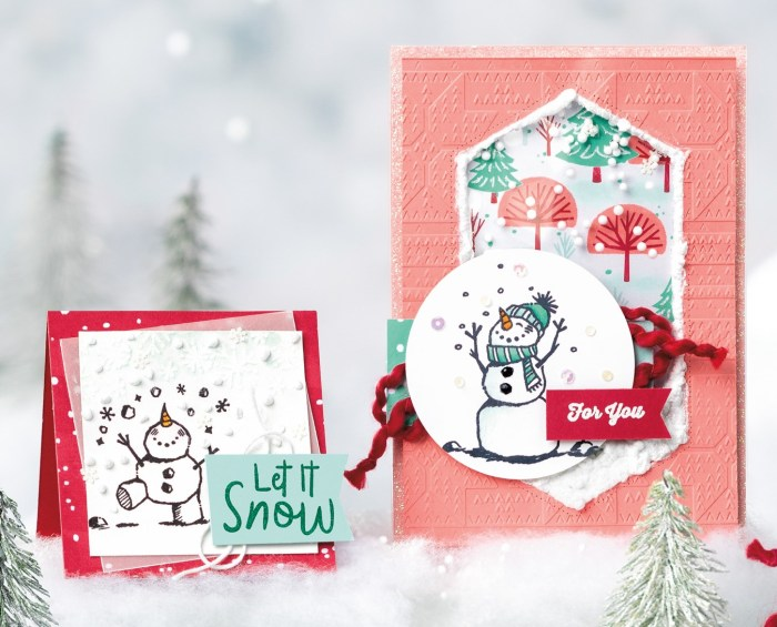 Snow Fall Accents Puff Paint with Wendy Lee, Video, Tutorial, snow, stampin Up, SU, #creativeleeyours, hand made card, technique,snowman season stamp set, die-cut, holiday, Christmas, friend, celebration, stamping, creatively yours, creative-lee yours, DIY, heat set