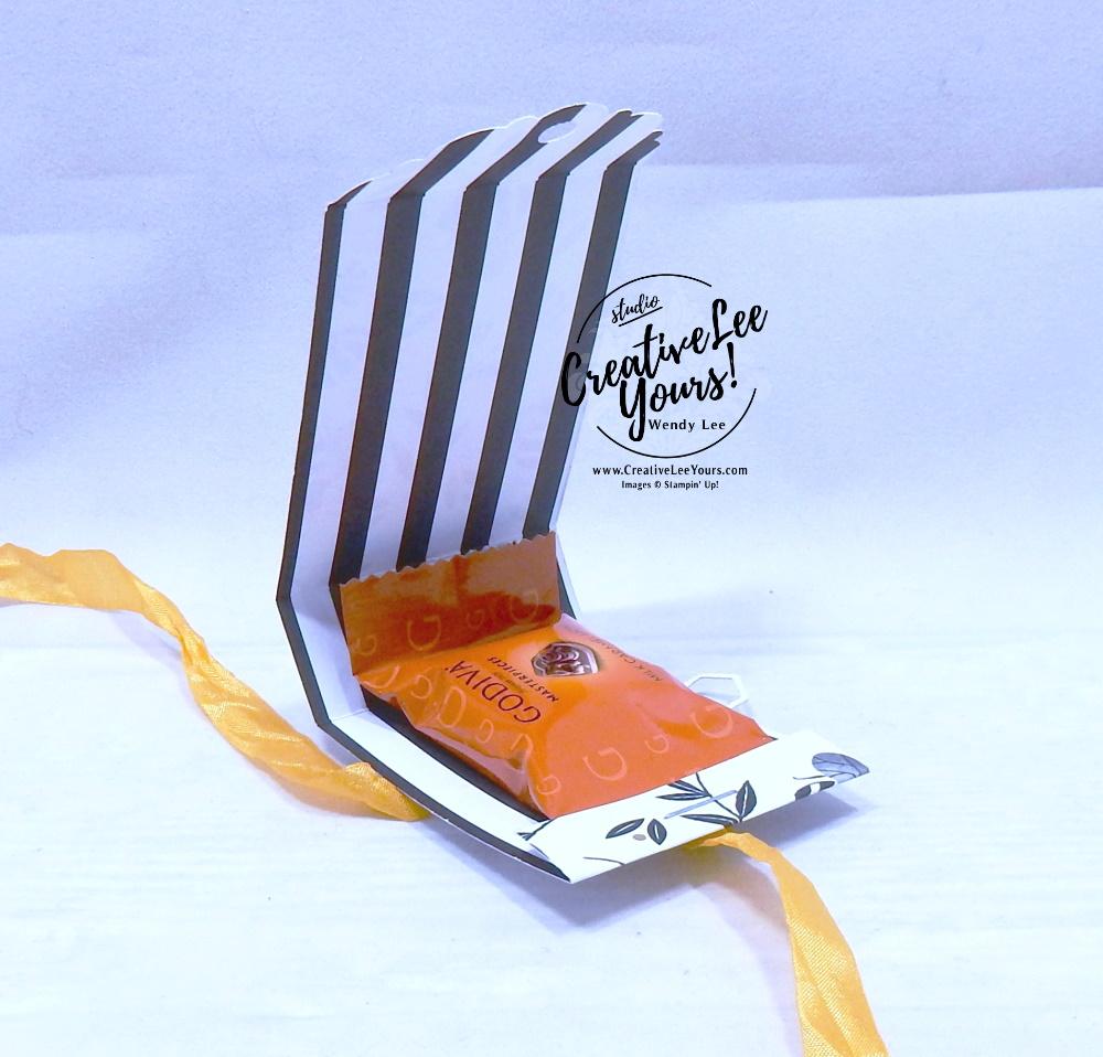 Honey Bee Treat Holder by Wendy Lee, stampin Up, SU, #creativeleeyours, handmade card, Honey Bee stamp set, Detailed Bee dies, friend, celebration, stamping, creatively yours, creative-lee yours, DIY, birthday, papercrafts, treat holder,3D, behive, honeycomb, golden honey