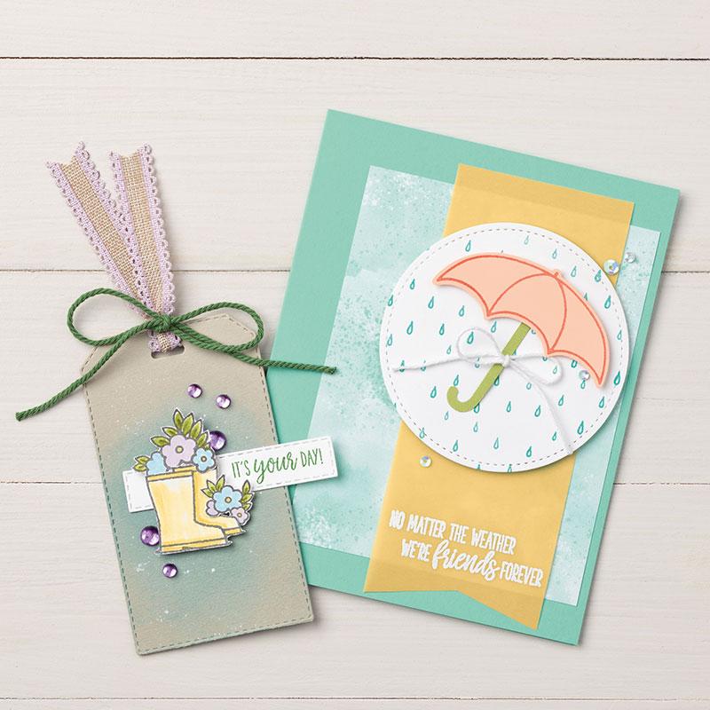 Under my umbrella Bundle, Wendy Lee, stampin up, handmade cards, rubber stamps, stamping, #creativeleeyours, creatively yours, creative-lee yours, friend, sunshine, celebration, smile, thank you, birthday, congrats, amazing, love, video, DIY, boots, umbrella, raindrops, flowers, #su , #stampinupdemonstrator, #papercrafts , #papercraft , #papercrafting , #makeacardsendacard ,#makeacardchangealife