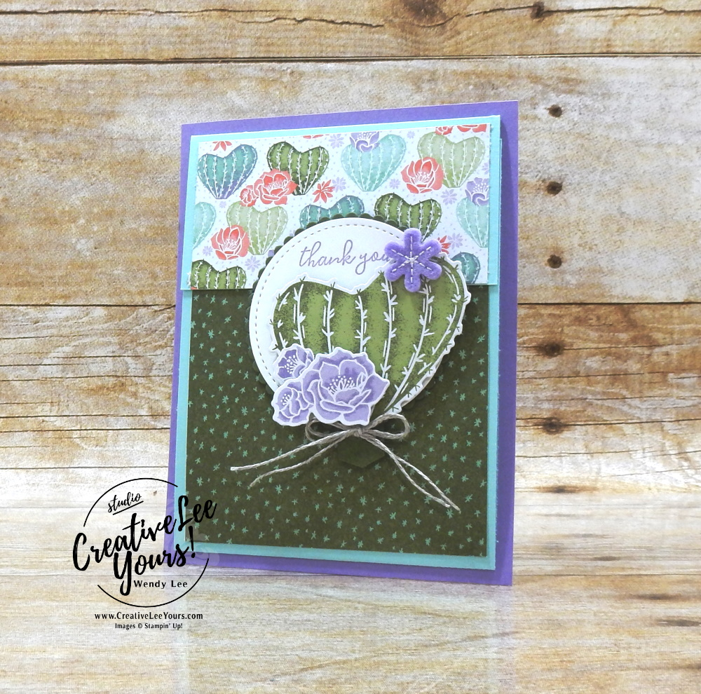 Vertical Sliding Lock Fun Fold by Wendy Lee, stampin Up, SU, #creativeleeyours, handmade card, friend, celebration , birthday, congrats, friend, birthday, stamping, creatively yours, creative-lee yours, DIY, papercrafts, rubberstamps, #stampinupdemonstrator , #papercrafts , #papercraft , #papercrafting , #papercraftingsupplies, #papercraftingisfun, video , handsomely suited stamp set, Well Suited,#tutorial ,#tutorials, thank you, #live, Facebook live, #thankyoucard, #slidinglock, #freeasabird, #floweringcactus, #productmedley, #funfold, ,#funfoldcards ,#funfoldcard ,#tutorial ,#tutorials