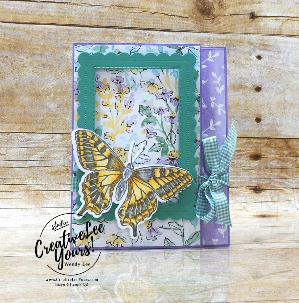 Framed Butterfly Gift Card Holder by wendy lee, #wendylee , #creativeleeyours , #stampinup , #su , #stampinupdemonstrator , #cardmaking, #handmadecard, #rubberstamps, #stamping, #cardclass #cardclasses ,#onlinecardclasses,#tutorial ,#tutorials #DIY, #papercrafts , #papercraft , #papercrafting , #papercraftingsupplies, #papercraftingisfun, #papercraftingideas, #makeacardsendacard ,#makeacardchangealife , #livepapercrafting, #card, #friend, #birthday, #facebooklive, #video, #livepapercrafting, #facebooklive, #thankyoucard, #giftcardholder, #butterflybrilliance, #colorandcontour, #moneyholder, #funfold, #handpenned