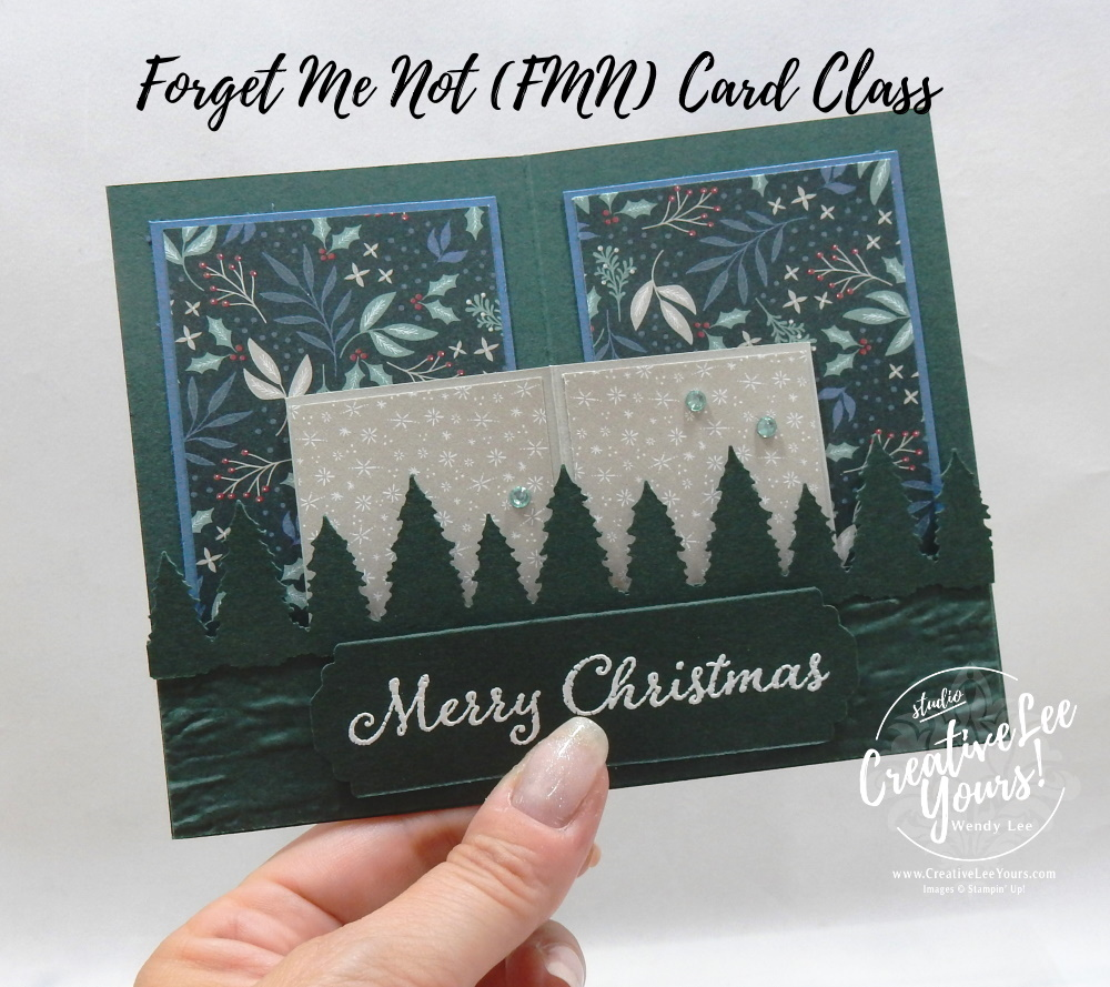 Curvy Pop-Up by wendy lee, Fun Fold, Evergreen Elegance stamp set, Evergreen border punch, Tidings of Christmas, stampin up, stamping, SU, #creativeleeyours, creatively yours, creative-lee yours, #cardmaking, #handmadecard, #rubberstamps #stamping, friend, thinking of you, sympathy, thank you, birthday, love, anniversary, Christmas, stamping, DIY, paper crafts, welcome, #papercrafting , #papercraftingsupplies, #papercraftingisfun , FMN, forget me not, ,#cardclub ,#cardclasses ,#onlinecardclasses , tutorial ,#tutorials ,#funfoldcards ,#funfoldcard ,#makeacardsendacard ,#makeacardchangealife,