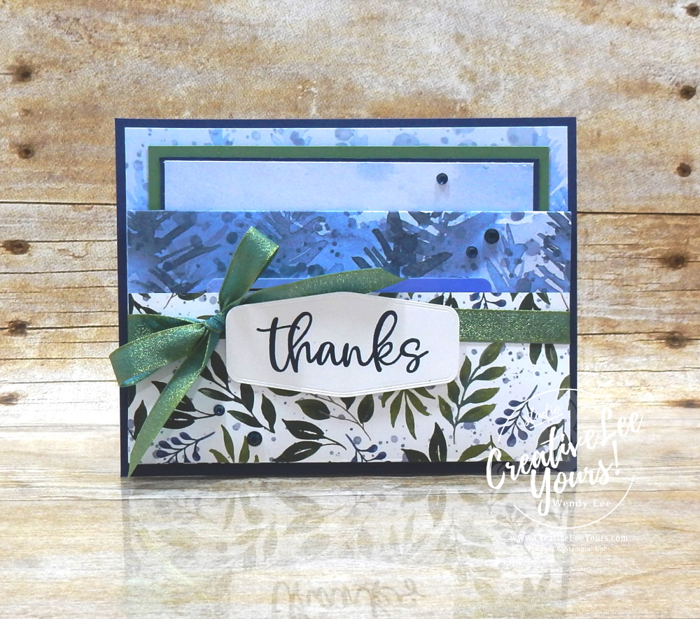 Holiday Thanks Double Pocket by Wendy Lee, Biggest Wish Stamp Set, Evergreen Elegance stamp set, stampin Up, SU, #creativeleeyours, handmade card, friend, celebration, thank you, stamping, creatively yours, creative-lee yours, DIY, birthday, papercrafts, gift card holder, Christmas, #makeacardsendacard ,#makeacardchangealife , rubberstamps, #stampinupdemonstrator , #cardmaking, #papercrafts , #papercraft , #papercrafting , #papercraftingsupplies, #papercraftingisfun, kylie bertucci, international highlights, blog hop, double pocket, beauty of the earth