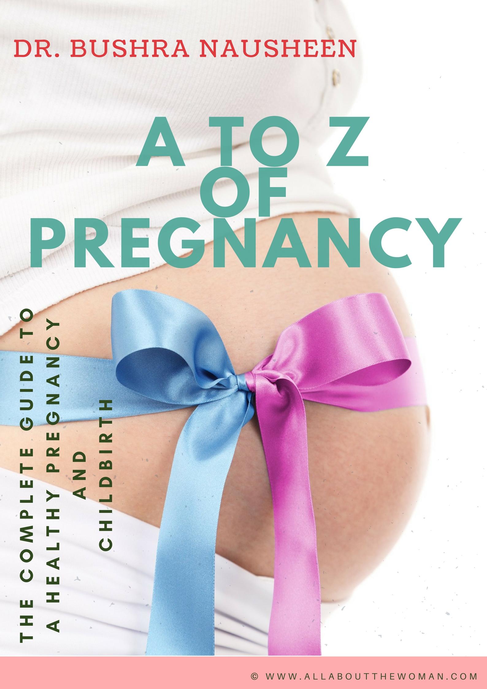#BlogChatter E-book Review- A TO Z Pregnancy by Dr.Bushra Nausheen